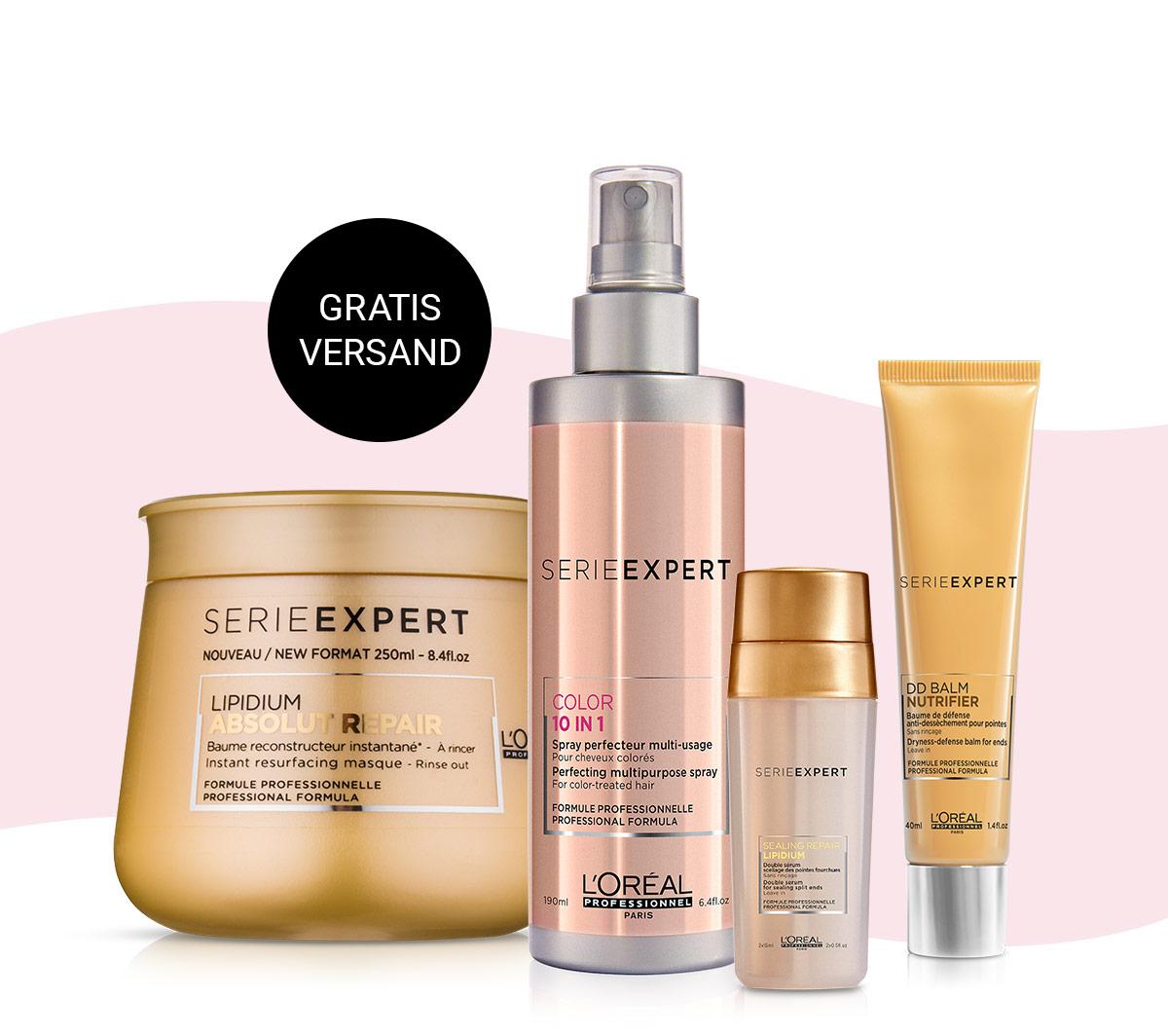 Gratisversand beim L'Oréal Professionnel Einkauf