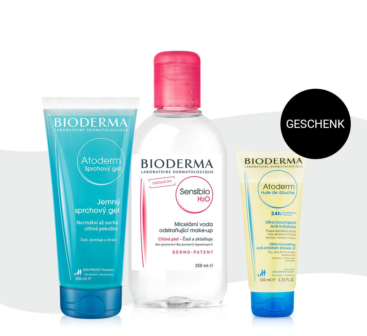 Gratis Duschöl Atoderm zu Ihrem Bioderma Einkauf