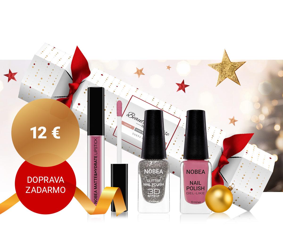 Vianočný cracker NOBEA Beauty Surprise s doručením zadarmo
