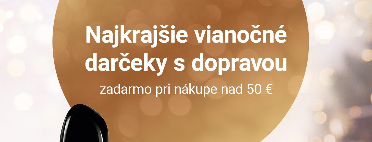 Najkrajšie vianočné darčeky s dopravou zadarmo pri nákupe nad 50 €