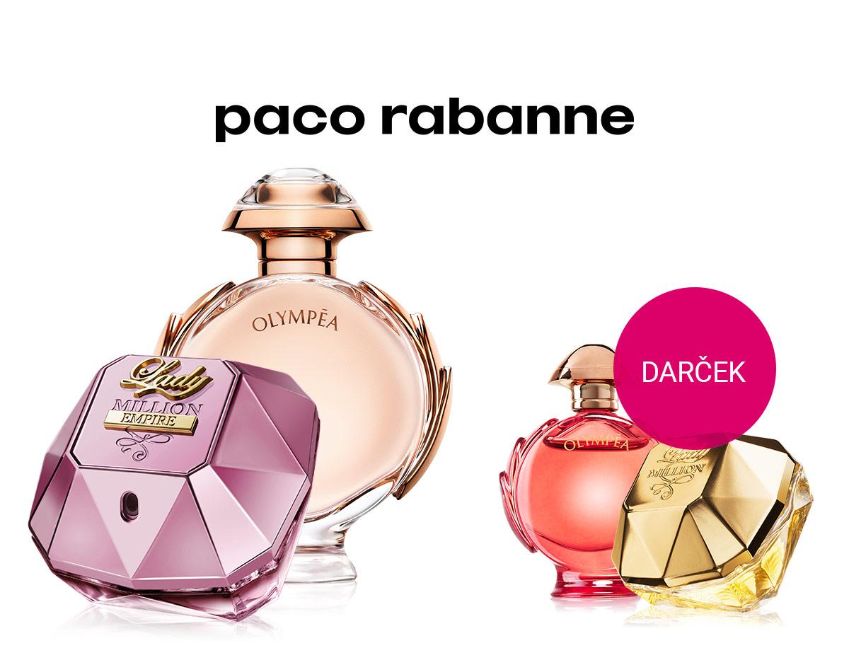 Miniatúra vône Paco Rabanne zadarmo k nákupu dámskych vôní tejto značky