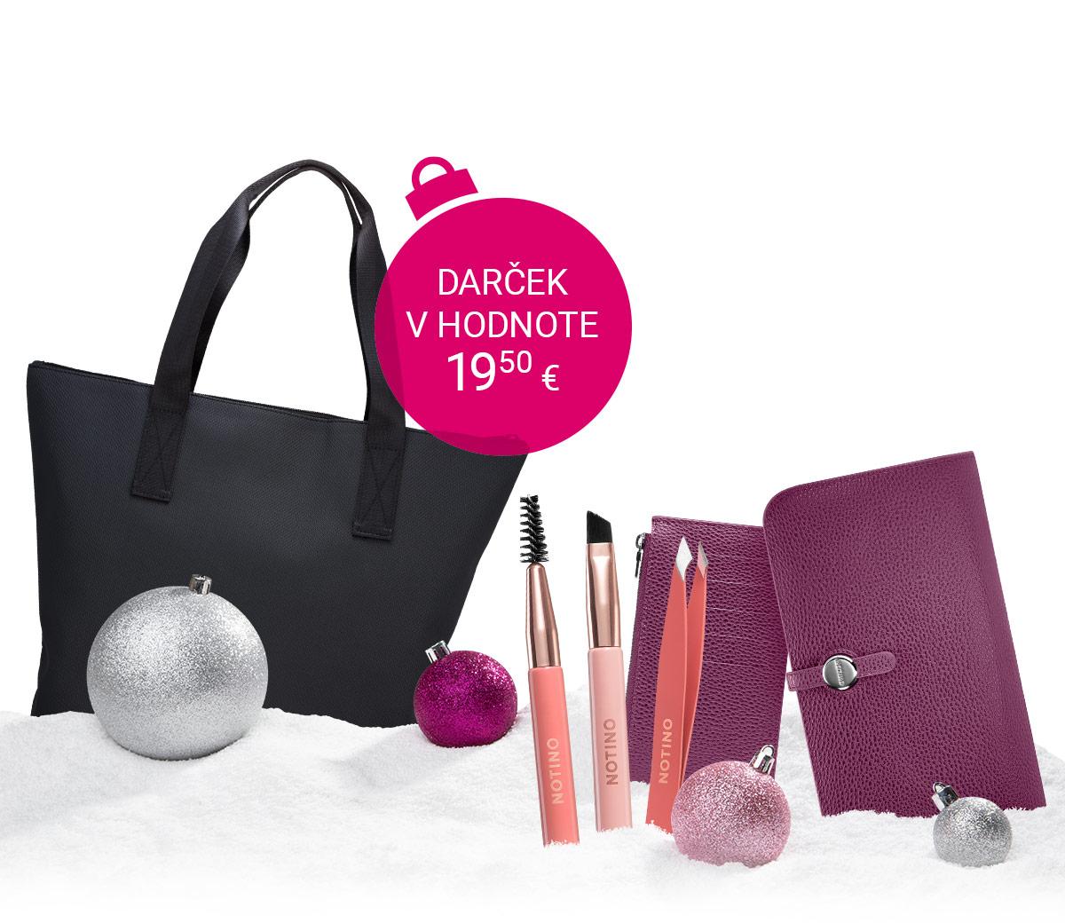 Praktická taška zadarmo k nákupu Notino produktov nad 30 €.